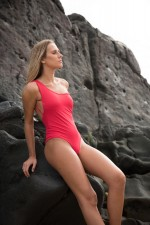 Formentera Swimsuit Red