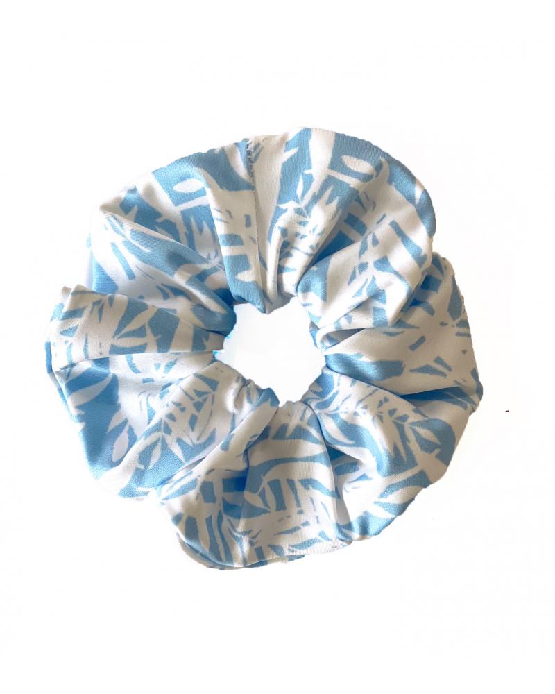 Scrunchie Blue Bamboo