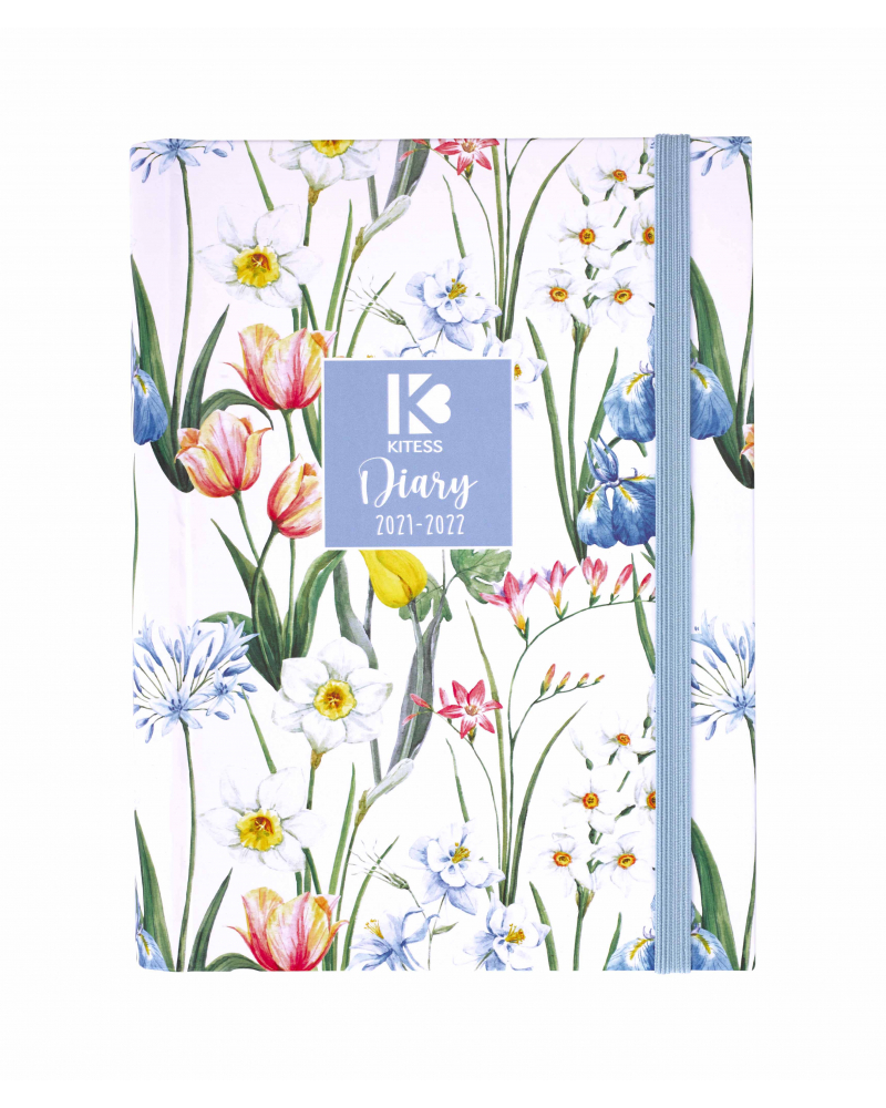 16 Month Diary Planner Country Flowers