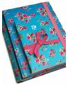 3 Notebook Set Roses