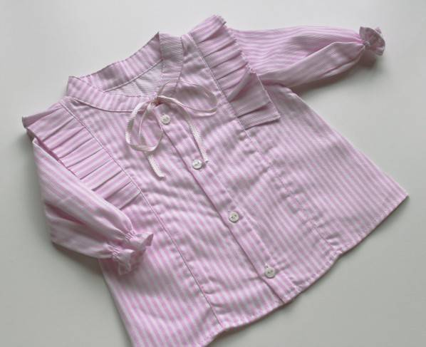 Stripes blouse - pink